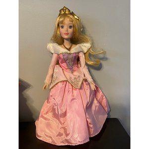 Disney Porcelain Aurora Doll
